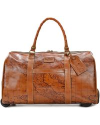 Patricia Nash - Signature Map Avola Extra-large Trolley Duffle Bag - Lyst