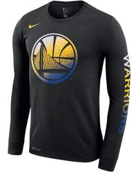 6289ab6aa Lyst - Nike Golden State Warriors Playoff Mantra Legend Long Sleeve ...