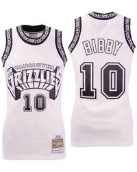 257edda88 Mitchell   Ness - Mike Bibby Vancouver Grizzlies Concord Collection Swingman  Jersey - Lyst