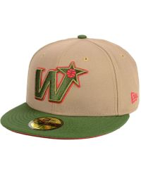 new style 6f1f2 7ea4b KTZ Washington Redskins State Flective Redux 59fifty Cap in Black for Men -  Lyst