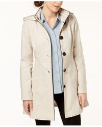 Laundry by Shelli Segal - Skirted Back-bow Trench Coat - Lyst
