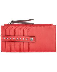 INC International Concepts I.n.c. Hazell Card Case, Created For Macy's - Red