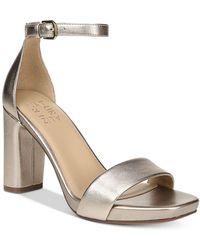 Naturalizer Joy Dress Ankle Strap Sandals - Multicolour
