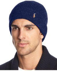 Polo Ralph Lauren - Signature Merino Cuff Hat - Lyst