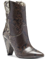 INC International Concepts Bevie Booties, Created For Macy's - Brown