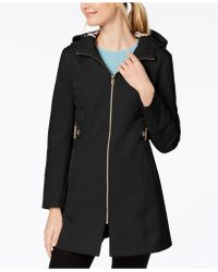 Via Spiga - Petite Softshell Raincoat - Lyst