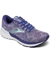 Brooks Adrenaline Gts 21 Running Sneakers From Finish Line - Blue