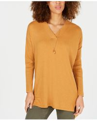 Style & Co. - Petites High-low Over-sized Tunic Jumper, Created For Macy's - Lyst