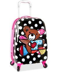 Heys Britto 3d Teddy Bear Spinner Suitcase - Multicolour