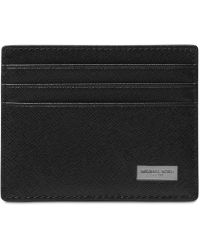 38768f023f4e Michael Kors Men s Andy Leather Bifold Wallet in Black for Men - Lyst
