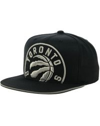 975782ae633 Lyst - Mitchell   Ness Toronto Raptors Winning Team Snapback Cap in ...