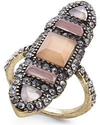 INC International Concepts - I.n.c. Brass Multi-stone Ring, Created For Macy's - Lyst