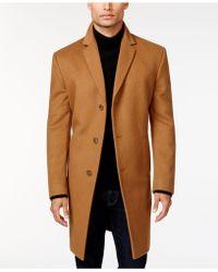 Kenneth Cole Reaction - Raburn Wool-Blend Slim-Fit Coat - Lyst