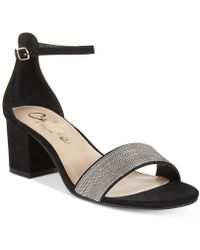 Callisto - Jazmine Block-heel Dress Sandals - Lyst