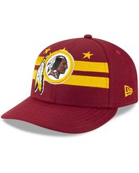 3daa70a6492 KTZ - Washington Redskins Draft Low Profile 59fifty-fitted Cap - Lyst
