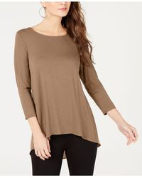 Alfani - Woven-back Top, Created For Macy's - Lyst
