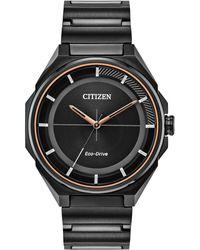 Citizen - Black Stainless Steel Bracelet Watch 41mm - Lyst