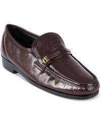 Florsheim Shoes, Riva Moc Toe Loafers - Purple
