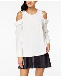 Kensie | Cold-shoulder Top | Lyst