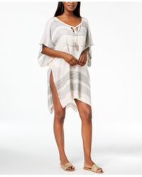 INC International Concepts | I.n.c. Textured Woven Stripe Cover-up, Created For Macy's | Lyst