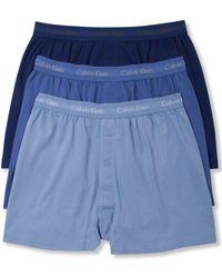 fbf0389185b6 Calvin Klein Nb1569 Evolution Micro Boxer Brief in Blue for Men - Lyst
