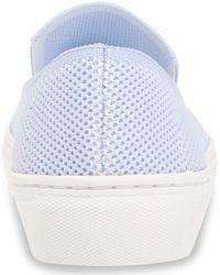 Steven New York Kraft Knit Slip-on Sneakers - Blue