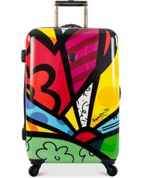 """Heys - Britto New Day 30"""" Hardside Spinner Suitcase - Lyst"""