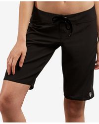 "Volcom - Simply Solid 11"" Boardshorts - Lyst"