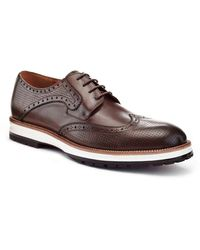 Ike Behar Billy Oxford Shoes - Brown