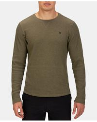 Hurley - Mens Seaside Thermal Shirt, Created For Macy's - Lyst