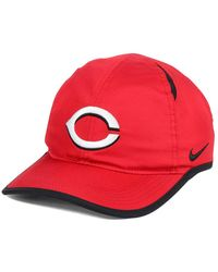 Lyst - Nike Dri-fit Featherlight Adjustable Cap in Red for Men 0fd455643d53