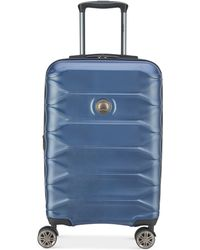 """Delsey - Meteor 21"""" Hardside Expandable Carry-on Spinner Suitcase - Lyst"""