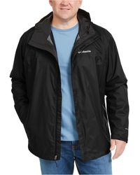 Columbia - Big & Tall Watertight Ii Packable Jacket - Lyst