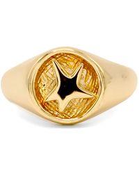 Robert Lee Morris Star Signet Ring - Metallic