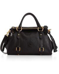 Dooney & Bourke Florentine Vachetta Small Leather Satchel - Black