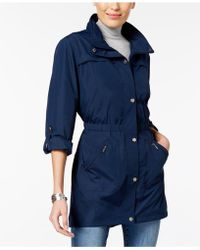 Style & Co. - Roll-tab Utility Jacket - Lyst