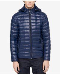 Calvin Klein - Men's Packable Hooded Puffer Jacket - Lyst