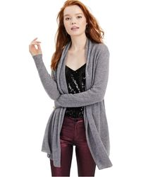 Charter Club - Rolled-edge Pure Cashmere Cardigan, Created For Macy's - Lyst
