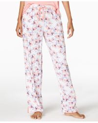 Alfani - Woven Printed Pajama Pants, Created For Macy's - Lyst