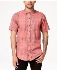 Ezekiel - Stan Plaid T-shirt - Lyst