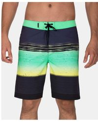 "Hurley - Phantom Printed 20"" Board Shorts - Lyst"
