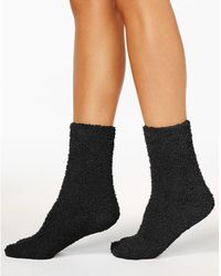 Charter Club - Women's Solid Butter Socks, Only At Macy's - Lyst