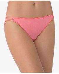 Vanity Fair Illumination String Bikini 18108 - Pink