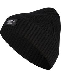 adidas - Originals Ribbed Beanie - Lyst