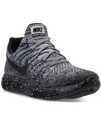 864c1f81e18b1 Nike - Women s Lunarepic Low Flyknit 2 Running Sneakers From Finish Line -  Lyst