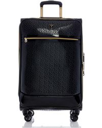 """Guess Fashion Travel Rancho 24"""" Softside Check-in Spinner - Black"""