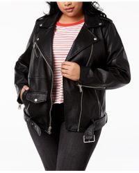 Levi's - ® Plus Size Faux-leather Moto Jacket - Lyst