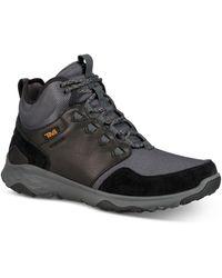 Teva Arrowood Venture Waterproof Hiking Boots - Black