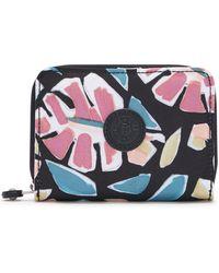 Kipling Money Love Nylon Rfid Wallet - Multicolour