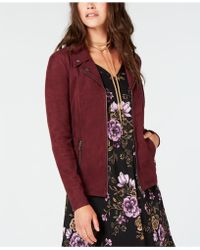 Style & Co. - Petite Moto Jacket, Created For Macy's - Lyst